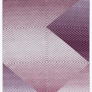 Samantha Bittman, Untitled, 2016, acrylic on hand-woven textile, 30 x 24 inches