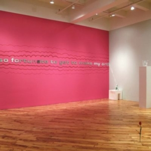 Joe Zane, Coming Up Roses installation view, 2011