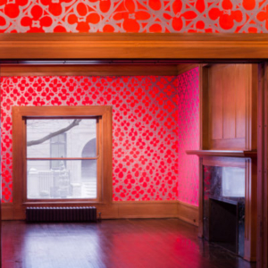 Judy Ledgerwood, Installation View, Chromatic Patterns for the Graham Foundation, 2014, Graham Foundation, Chicago, IL