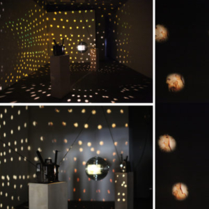 Mariah Garnett, Encounters I May or May Not Have Had With Peter Berlin (install), 2010, 16mm film installation, variable