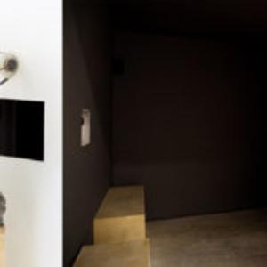 Mariah Garnett, Signal (install), 2012, at ltd Los Angeles, 16mm, 8min