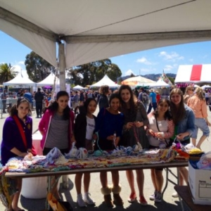 Ramekon O'Arwisters, Crochet Jam, Maker Fair Bay Area, San Mateo, California, 2015