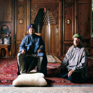 Claire Beckett, Hans with his teacher Lokman Efendi, 2013, archival inkjet photograph, 30 x 40 inches