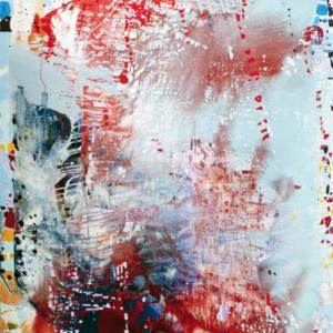 Jackie Saccoccio, Portrait (CosmicBaroque), 2015, oil and mica on linen, 106 x 79 , Artadia NADA award
