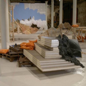 Kelly Kaczynski, Partial (install view)