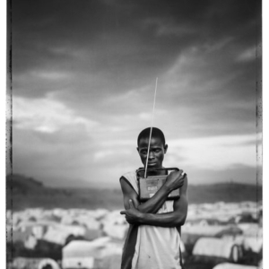 Jim Goldberg, Prized Possession, Democratic Republic of Congo from Open See, 2008, Gelatin Silver Print, 40 x 50 inches