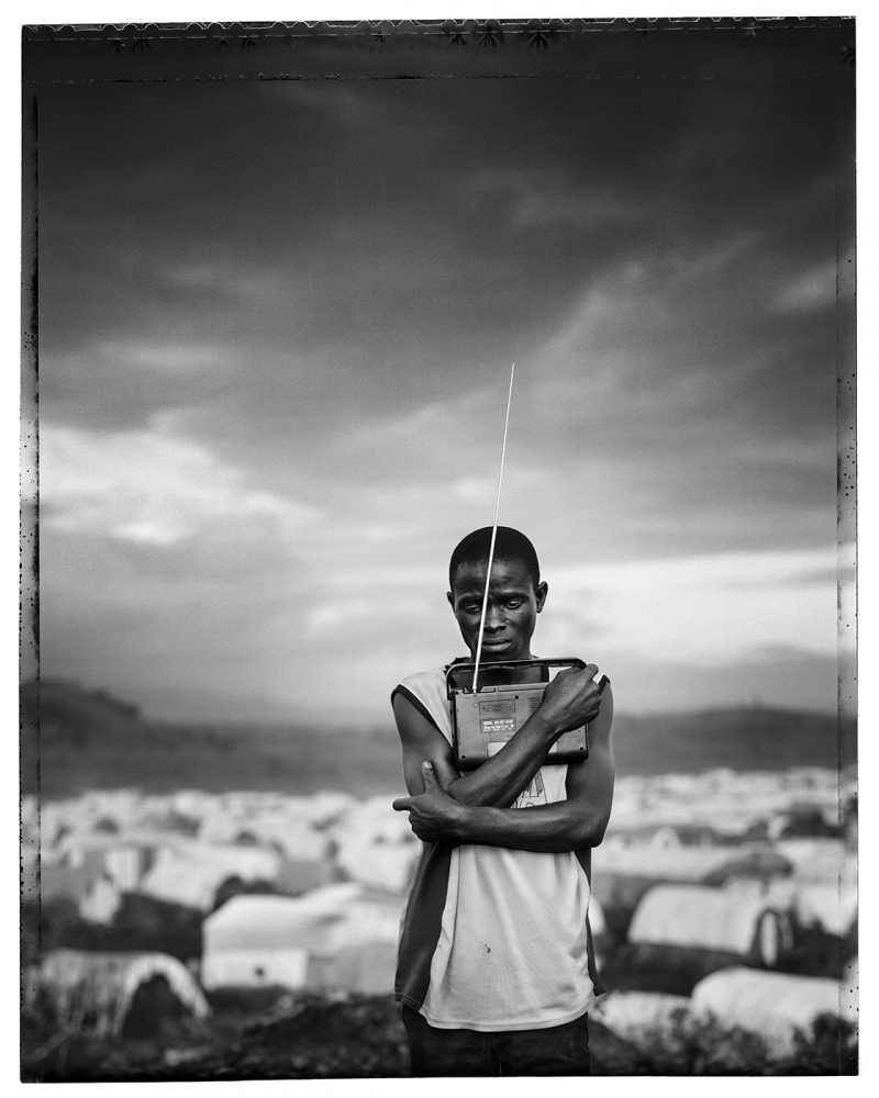 Jim Goldberg, Prized Possession, Democratic Republic of Congo from Open See, 2008, Gelatin Silver Print, 40 x 50 inches