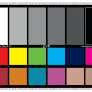 Stephanie Syjuco, Color Calibration Chart, 2016, Dye-Sublimation print on poly-satin, 100 x 136 inches