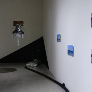 Michael Arcega, A Scene from the Anthropocene, 2016, Linfield Gallery