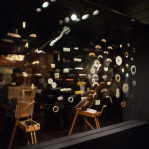 Michael Arcega, Rerereading Arrangements: The Field, 2014, Asian Art Museum