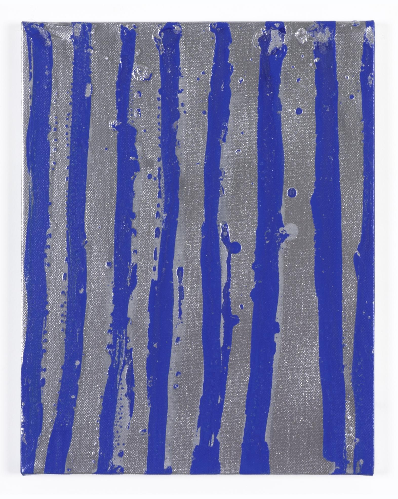 Philip von Zweck, Untitled, 2011, spray enamel on canvas, 14 x 11 inches