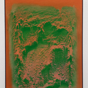 Philip von Zweck, Untitled, 2015, spray enamel on canvas, 14 x 11 inches