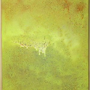 Philip von Zweck, Untitled, 2015, spray enamel on canvas, 24 x 18 inches