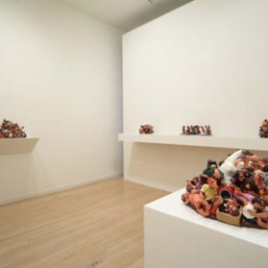 Benji Whalen, installation view of New Work, 2011, Gallery Paule Anglim, San Francisco, CA
