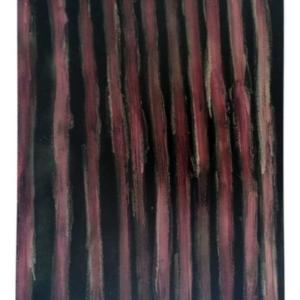 Philip von Zweck, Untitled, 2014, spray enamel on canvas, 24 x 18 inches