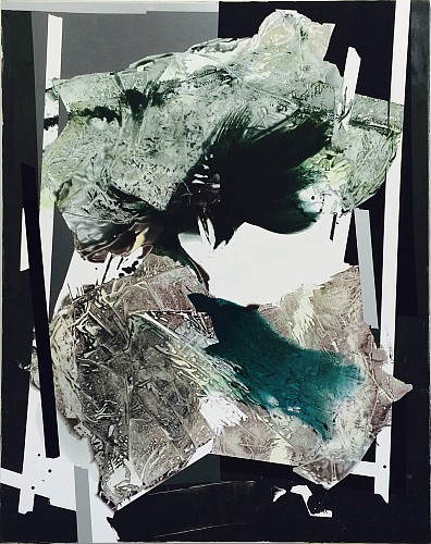 Sigrid Sandstrom, Untitled, 2015, acrylic on polyester canvas, 76 x 60 inches. Image courtesy of www.sigridsandstrom.com