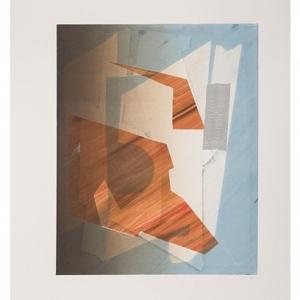 Sigrid Sandstrom, Monoprint, 2013, printed by Marina Ancona, 10 Grand Press. Image courtesy of www.sigridsandstrom.com