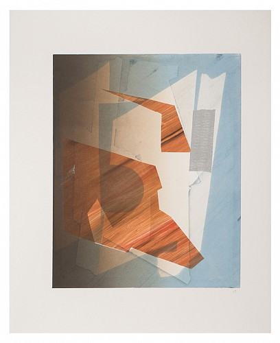 Sigrid Sandstrom, Monoprint, 2013, printed by Marina Ancona, 10 Grand Press. Image courtesy of www.sigridsandstrom.com