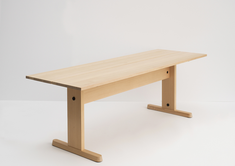 John Arndt, Shake Trestle Table. Image courtesy of www.studiogorm.com