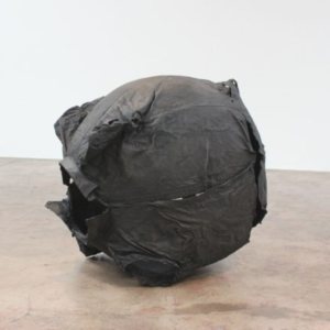 Joseph Havel, Black Moon 2, 2014-2016, bronze with patina, unique, 26 ½ x 28 x 32 ½ inches
