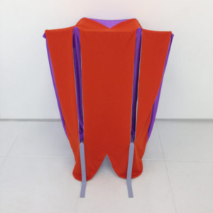 Katy Heinlein, Fob, 2014, cloth and wood, 48 x 36 x 36 inches, courtesy of the artist and Art Palace Gallery, Houston, TX