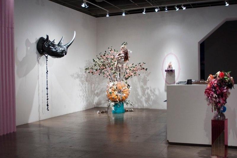 David Hevel, Installation shot at Marx & Zavattero, San Francisco, CA. Image courtesy of www.davidhevel.com