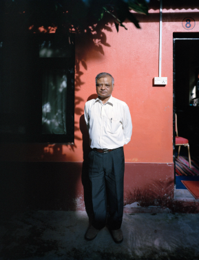 Surendra Lawoti, Hira Vishwakarma, Chairperson, Dalit Studies and Development Centre, 2013. Image courtesy of www.surendralawoti.com