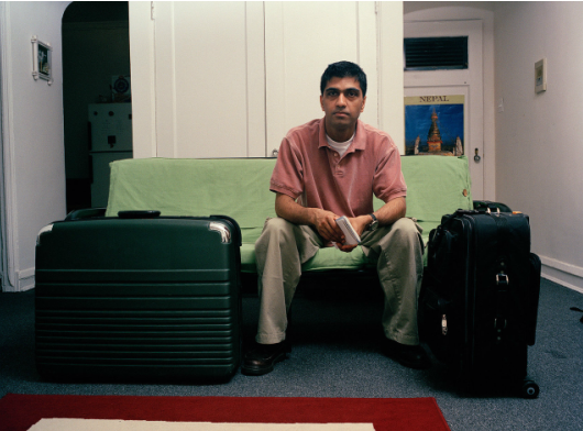 Surendra Lawoti, Dhiraj, 2000, from the series Chicago Pictures. Image courtesy of www.surendralawoti.com