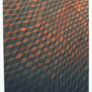Joe Baldwin, Cooling Floor, 2002, oil on canvas, 40 x 30 inches