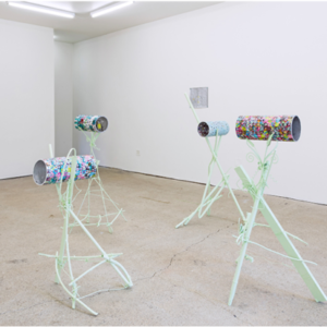 What Pipeline, Paul Pascal Theriault Suns Tunnels, 2016, image courtesy of www.whatpipeline.com
