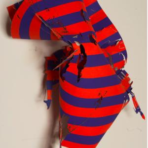 Tom Denlinger, EkstaticEdgewater, Thorndale4, 2015, rag paper, 19 x 12 x 8 inches