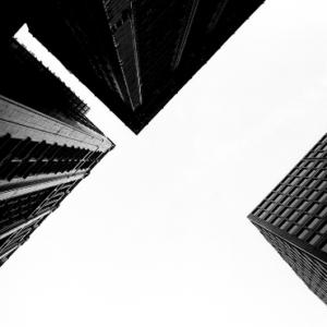 Tom Denlinger, Sky over Chicago, Sky 1, 2000m pigmented inkjet, 23 x 23 inches