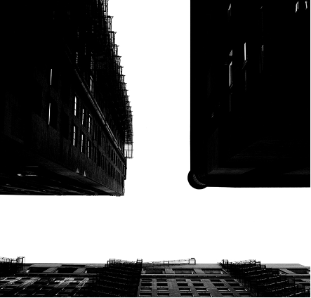 Tom Denlinger, Sky over Chicago, Sky 8, 2000, pigmented inkjet 23 x 23 inches