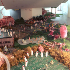 Erika Hannes, Enriqueta's World, Ciudad Atequirne (Yerba Buena Center for the Arts). Image courtesy of www.kika.us