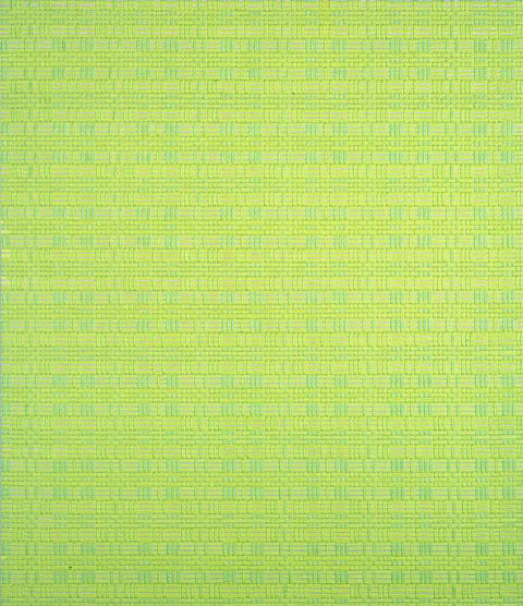 Andrea Higgins, Jackie (Bogota), 2002, oil on canvas, 24.5 x 21 inches. Image courtesy of www.andreahiggins.com