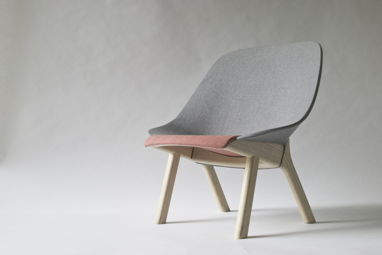 John Arndt, Sprung Lounge Chair. Image courtesy of www.studiogorm.com