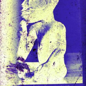 Philip Smith, NIGHT(BLUE), 2016, film-negative