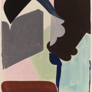 Patricia Treib, Straps, 2015, oil on canvas, 66 x 50 inches