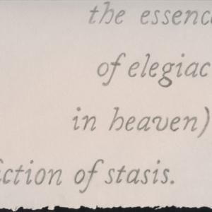 Regina Agu, Fiction Diptych (Drape No. 2), 2016, graphite on paper, 12 x 9 inches