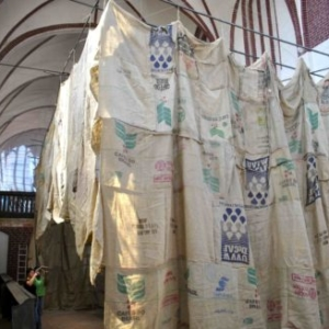 Kaneem Smith, THEBAI: A Chapel for Saint Maurice (installation view), 2012